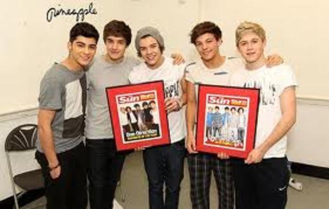 Bizarre Awards - One Direction