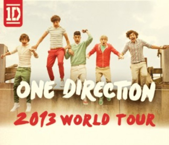One Direction anuncia: 2013 World Tour