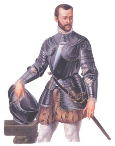 GASPARO SCARUFFI   (17 de Mayo de 1519 – 20 de Septiembre de 1584)