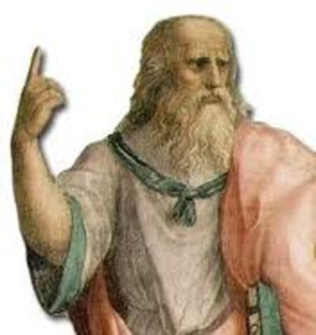 Platon (427 - 347 a. C.).