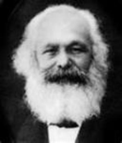 Karl Marx (05/05/1818 - 14/03/1883)