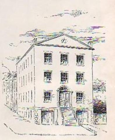 The English High School opened in Boston