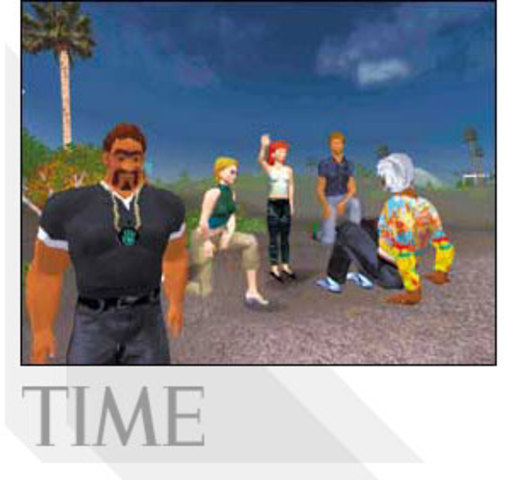 3D Online Environment