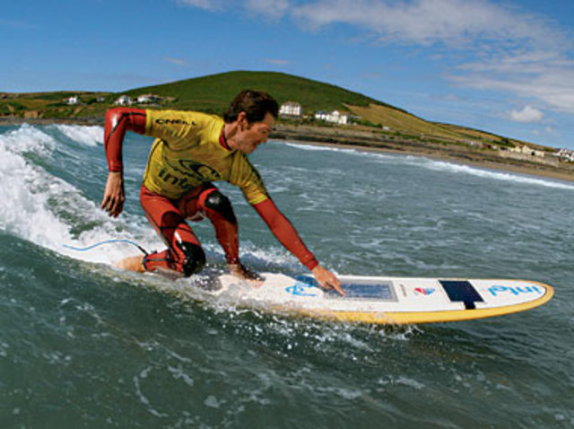 Wireless Tech Surfboard