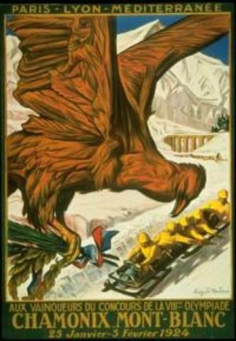 Chamonix, France, 1924