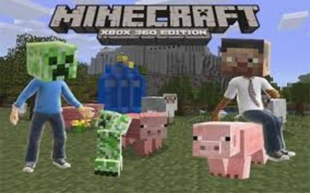 Minecraft X-Box 360