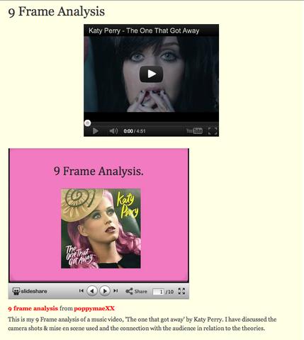 9 Frame Analysis