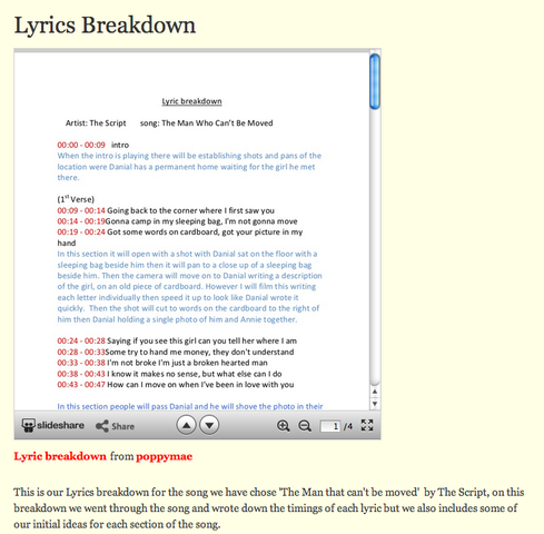Lyrics Breakdown