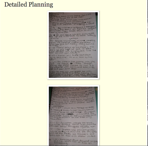 Detailed Planning