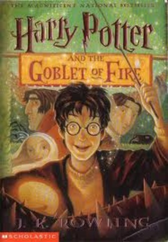 """J.K. Rowling Publishes """"The Goblet of Fire"""""""