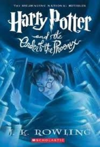 """J.K. Rowling Publishes """"The Order Of The Pheonix"""""""