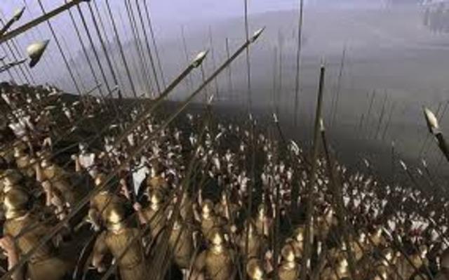 Rome won the alliance 263 BC