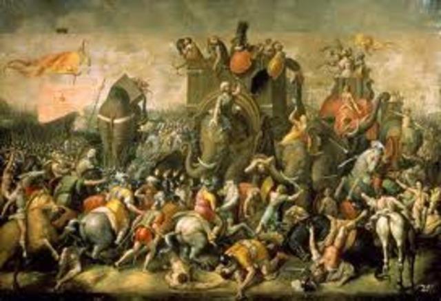Romans won further 262 BC