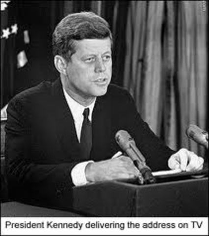 John F. Kennedy Cubakrisen (tale)