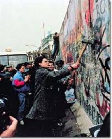 Berlinmurens fall