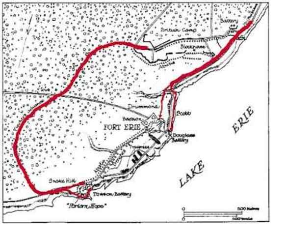 Siege of Fort Erie - War of 1812