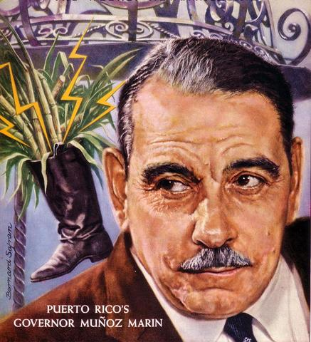 First Elected Governor of Puerto Rico: Luis Munoz Marin