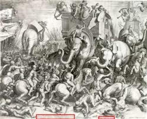 Battle of Ticinus and Battle of Trebia 218 BC