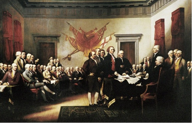 Declaration of Independence Announced