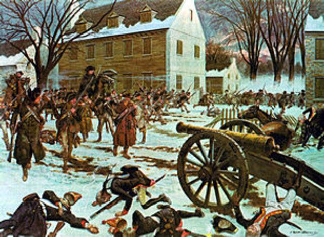 Washington Captures Trenton.