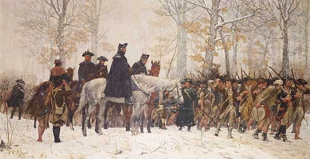 Winter at Valley Forge PA
