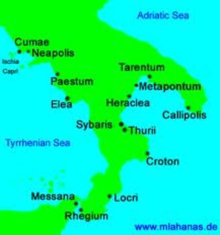 Hannibal takes Tarentum 212 BC