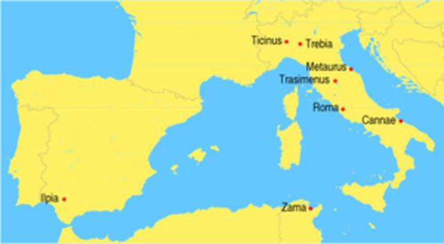 Battle of Herdonia 210 BC