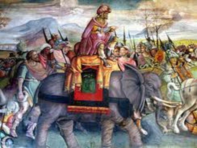 Scipio Africanus captures new Carthage 209 BC