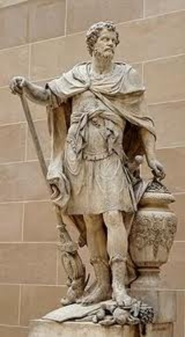 Romans defeat Hasdrubal's army