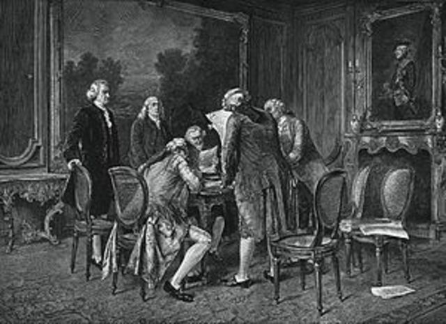 Treaty of Paris ends French and Indian War