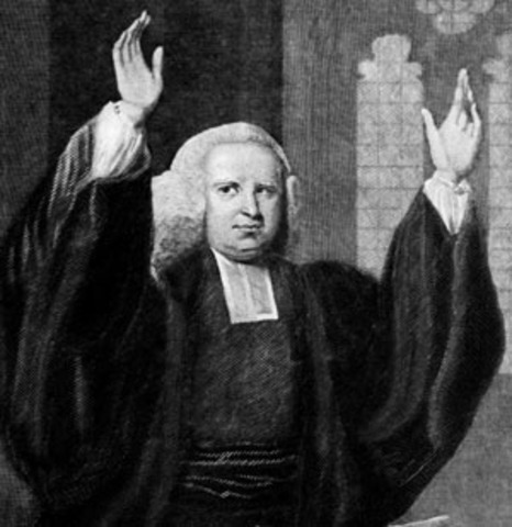 George Whitefield starts tour of New England