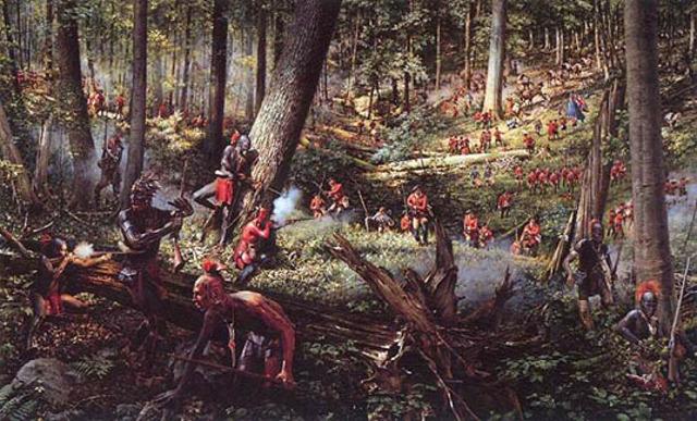 Britich seize Louisbourg