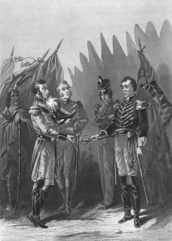 British seize Fort Detroit