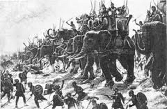 Battle of Zama 202 BC