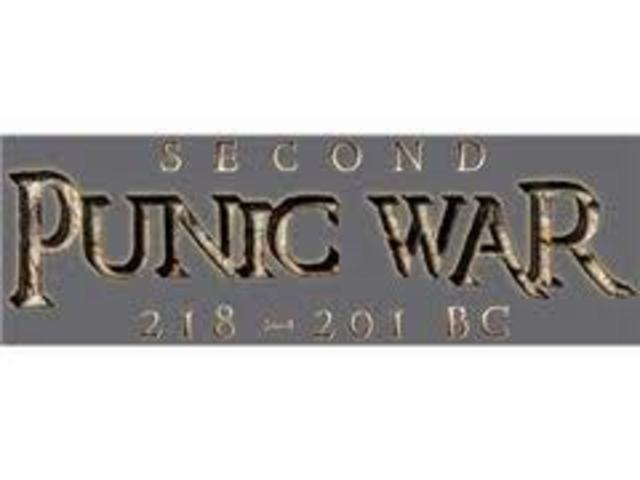 End of Second Punic War 201 BC