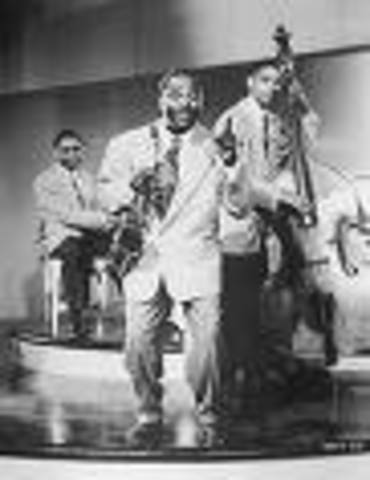 """""""Five Guys Named Moe"""" by Louis Jordan and the Tympany Five"""