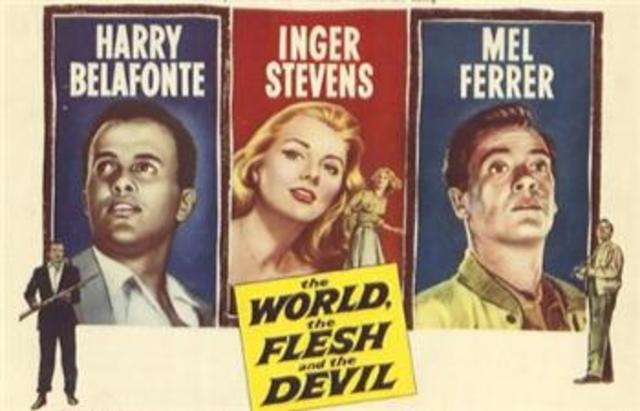"Primer largometraje en colores: ""The World, the Flesh and the Devil""."