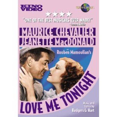 "Primer zoom: ""Love me Tonight"", de Victor Milner."