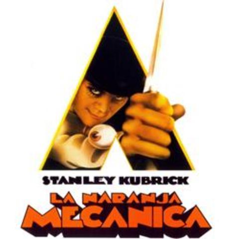 """Stanley Kubrick.La primera película con sistema de sonido Dolby: """"La Naranja mecánica"""","""