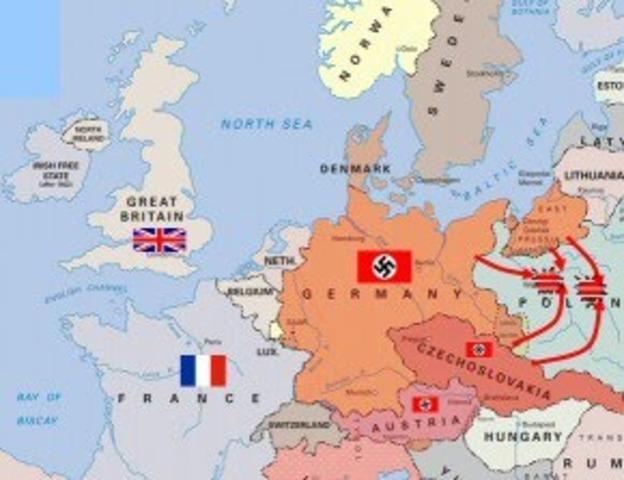 Comença la Segona Guerra Mundial