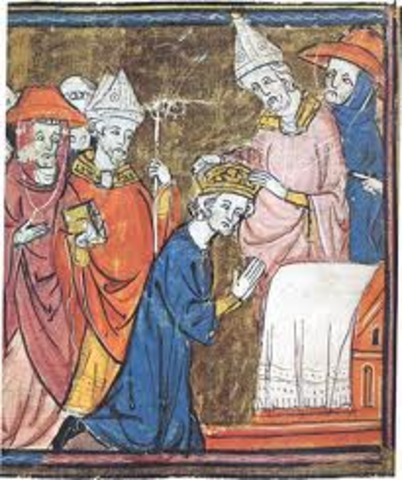 Crowning of Charlemagne by the pope