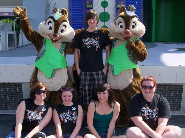 Hace un año y 7 meses que fui a DisneyWorld y Universal con la banda de marcha otro vez.
