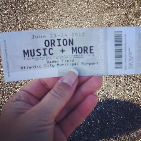 Hace 4 meses que fui a el festival de Orion y mi primer concierto de Metallica en Atlantic City, New Jersey.