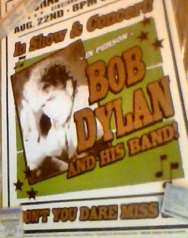 Hace cuatro años que mi padre y yo vimos Bob Dylan en concierto.