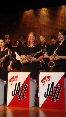 Aprendí a tocar el saxofón tenor