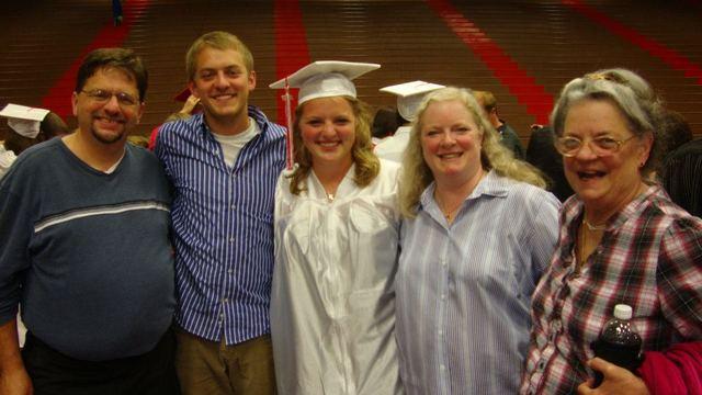 Me gradué de la escuela secundaria