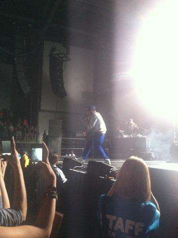 Tyga y B.O.B. concierto