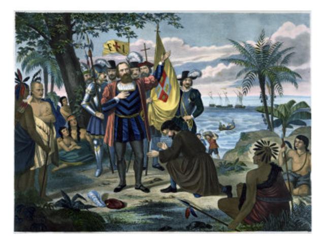 Christopher Columbus set sail 2nd time