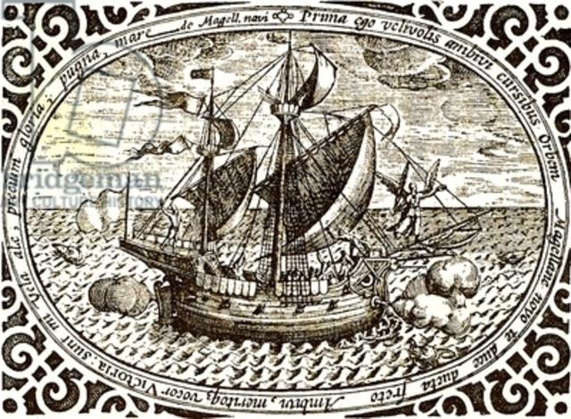 first to sail around the world