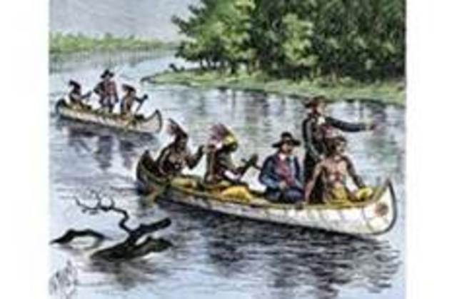 Marquette & Joliet explore the northern Mississippi River